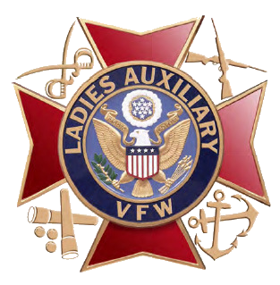 Ladies Auxiliary of the VFW Logo